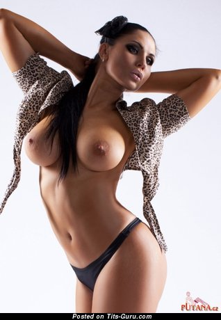 Image. Sofa - naked wonderful lady with big tits picture