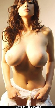 Image. Nude nice girl with huge natural tots photo