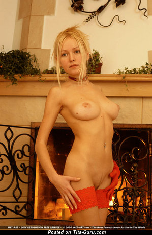 Ada A - Sweet Ukrainian Doll with Sweet Bald Firm Busts (Porn Picture)