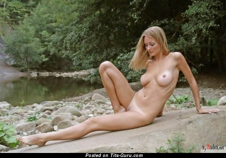Image. Julia A - naked blonde with big tittes image