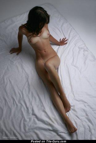 Image. Naked brunette image