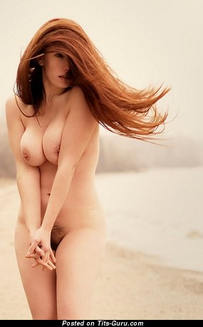 Image. Nude beautiful woman with big natural breast image
