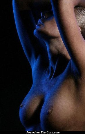 Image. Naked awesome female with medium breast pic