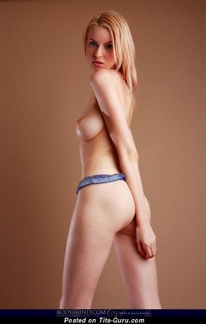Izolda Queen - Stunning Russian Moll with Stunning Bald Natural Regular Boobs (Hd 18+ Photoshoot)