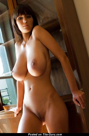 Image. Naked beautiful woman with big natural boobs pic