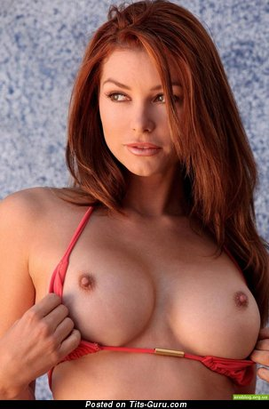 Image. Red hair with medium breast pic