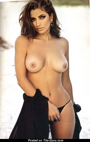 Adorable Topless Brunette with Adorable Exposed Natural C Size Titties (Sex Pix)