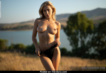 Candice B - Charming Ukrainian Blonde with Charming Bare Natural Boobys & Red Nipples (Hd Sex Pic)