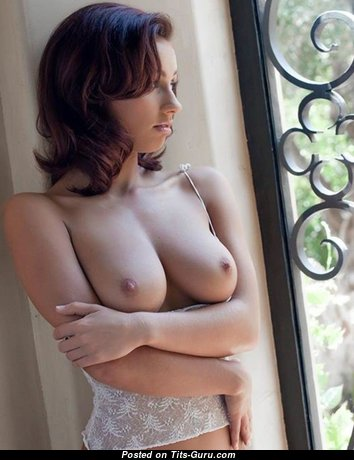 Good-Looking Babe with Good-Looking Bald Natural Soft Busts (Hd Porn Pix)