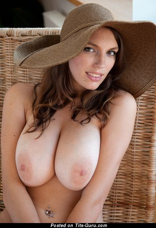 Image. Naked wonderful woman with big natural breast image