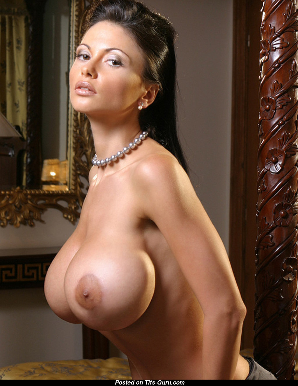 Veronika Zemanova - Miss With Bald Round Fake Monumental Breasts Xxx -8402