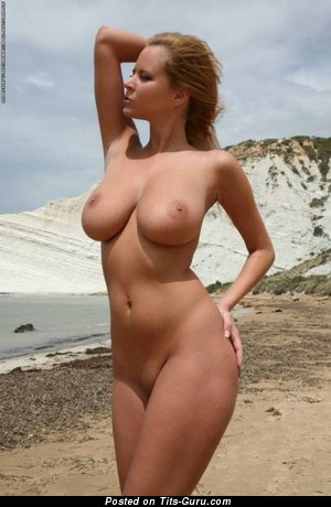 Image. Hot female with big natural breast picture