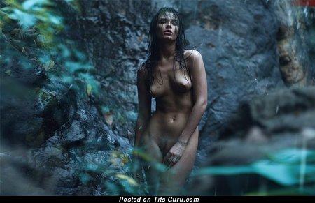 Ekaterina Vladi - Yummy Russian Gal with Yummy Naked Real Average Busts (Xxx Photoshoot)