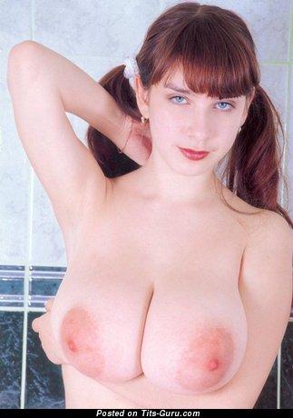 Yulia Nova - naked red hair with big natural boobies pic