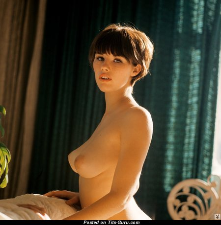 Dianne Chandler - Handsome Topless American Skirt with Handsome Nude Natural Soft Chest (Vintage 18+ Foto)