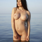 Yara Hegre - brunette with big boobies photo