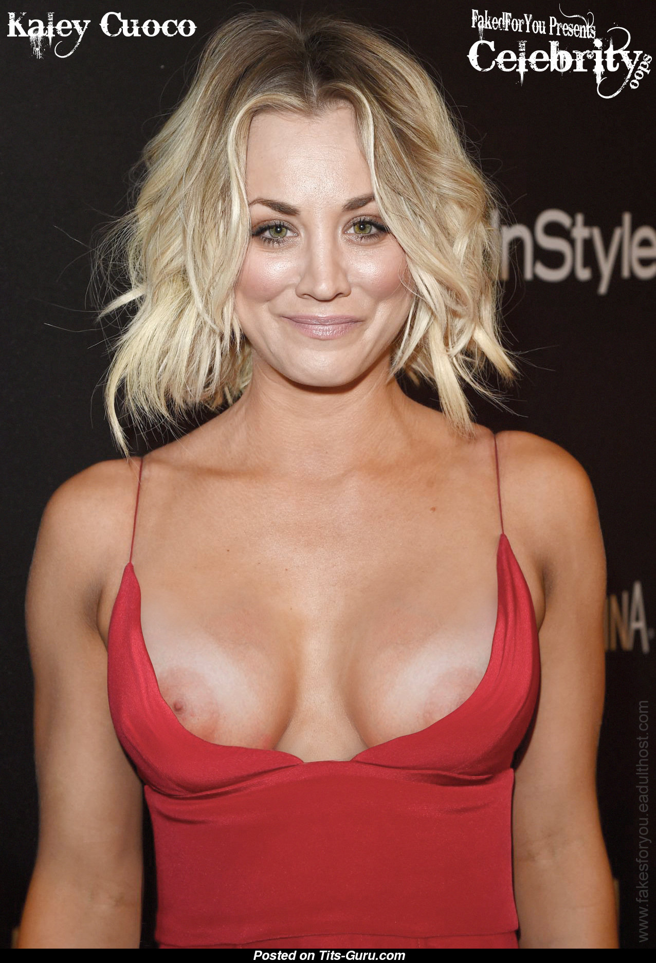 Kaley cuoco hot tits