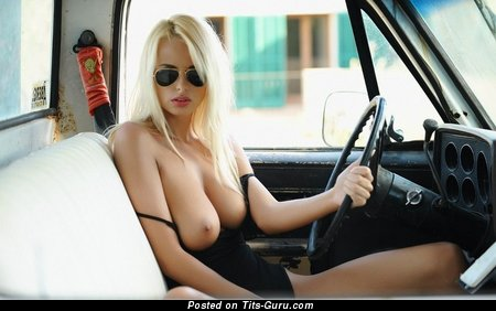 Image. Naked wonderful female with big natural boobs picture