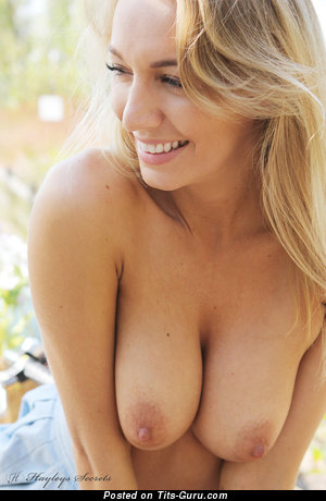 Image. Hayley Marie Radosevich - nude blonde with medium natural boobs picture
