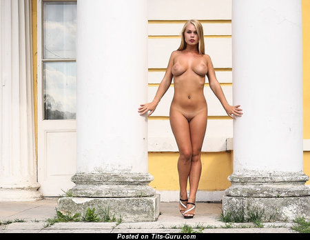 Image. Sexy naked blonde photo
