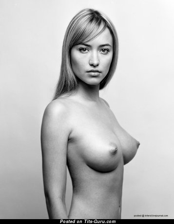 Image. Naked awesome female with medium natural tittys image