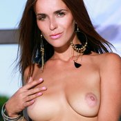 Fernanda - awesome girl with medium natural tittes pic