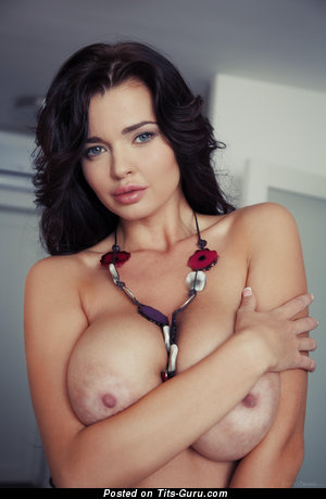 Katya Sidorenko Aka Sha Rizel - naked nice female with huge natural boob image