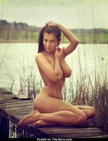 Dagmara Bajura - Hot Polish Red Hair with Hot Bare Natural Tight Boobie (Xxx Picture)