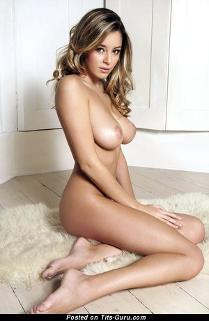Image. Keeley Hazell - sexy wonderful lady with medium natural tittys image