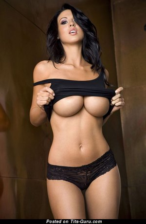 Image. Naked brunette with big tittys picture