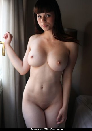 Image. Hot girl with natural breast photo