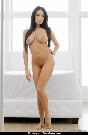 Anissa Kate - Good-Looking Algerian, French Floozy with Wonderful Nude Natural Average Tits (Porn Pic)