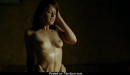 Gemma Arterton: nude asian red hair with medium natural boobs image