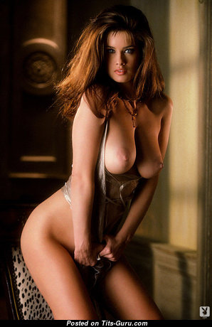Carrie Stevens - The Nicest American Playboy Red Hair Babe with The Nicest Defenseless Natural D Size Titty (Hd Sex Photoshoot)