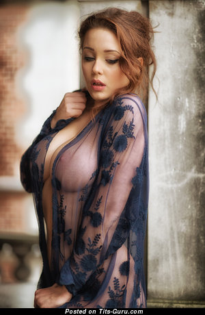 Agnieszka Gulczyńska - Elegant Red Hair with Elegant Naked Real Medium Boobys (Hd Sexual Pic)