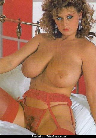 Lu Varley - фото красивой раздетой тёлки