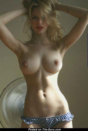 Magnificent Unclothed Blonde Babe (Hd Porn Pix)