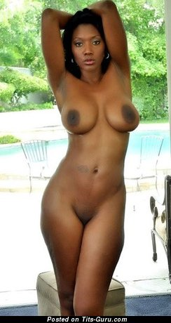 Image. Naked ebony with big tittys photo
