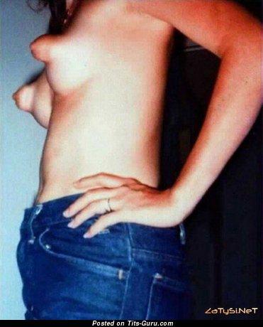 Image. Naked nice girl with natural boobies image