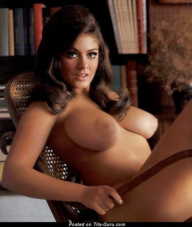 Cynthia Myers - Charming American Playboy Moll with Charming Exposed Natural G Size Breasts (Sex Picture)