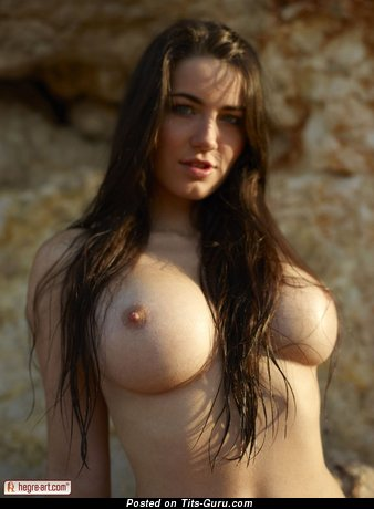 Image. Yara Eggimann - wonderful girl with big natural boob photo
