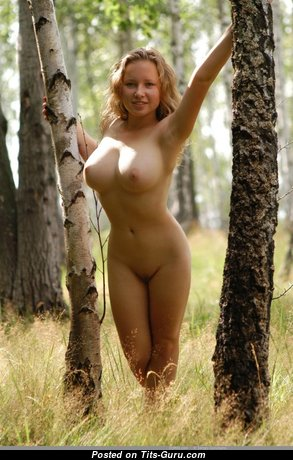 Dariya - Sexy Russian Blonde with Sexy Open Medium Titty (Sexual Picture)