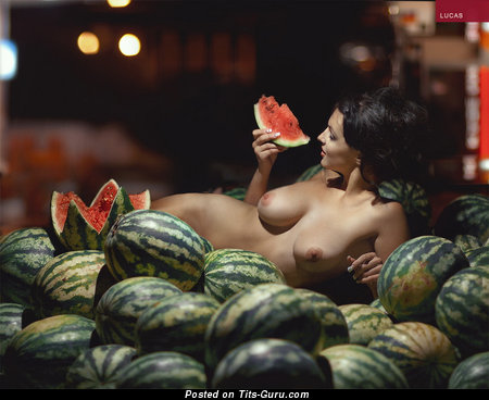 Image. Naked hot female with big natural boobies image