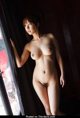 Sexy Asian Babe with Sexy Nude Real Regular Boobs (Hd Sex Photo)