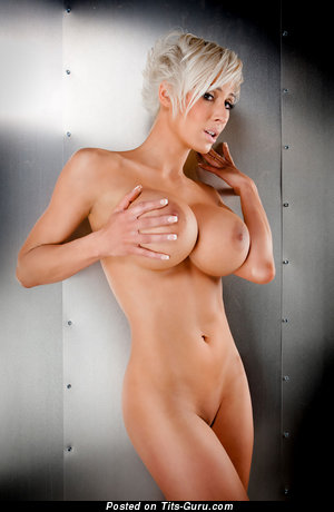 Marie-Claude Bourbonnais - Gorgeous Canadian Blonde with Gorgeous Bald Silicone Substantial Tit (Hd Xxx Picture)