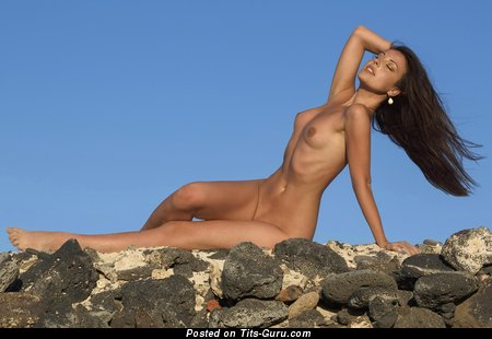 Image. Naked amazing female with small natural tittys image