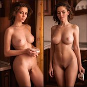 The Best Babe with The Best Nude Real Average Titty (Sex Foto)