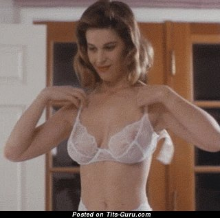 Image. Naked amazing female with big natural boob gif