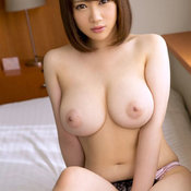Unknown - sexy asian brunette with big boobies photo