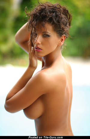 Image. Naked beautiful lady with big tittys image